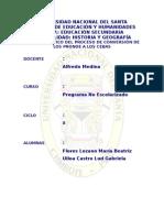 Analisis Crítico Del Proceso de Conversion de Los Pronoe a l