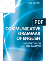 Leech, Svartvik - A Communicative Grammar of English-Third Edition