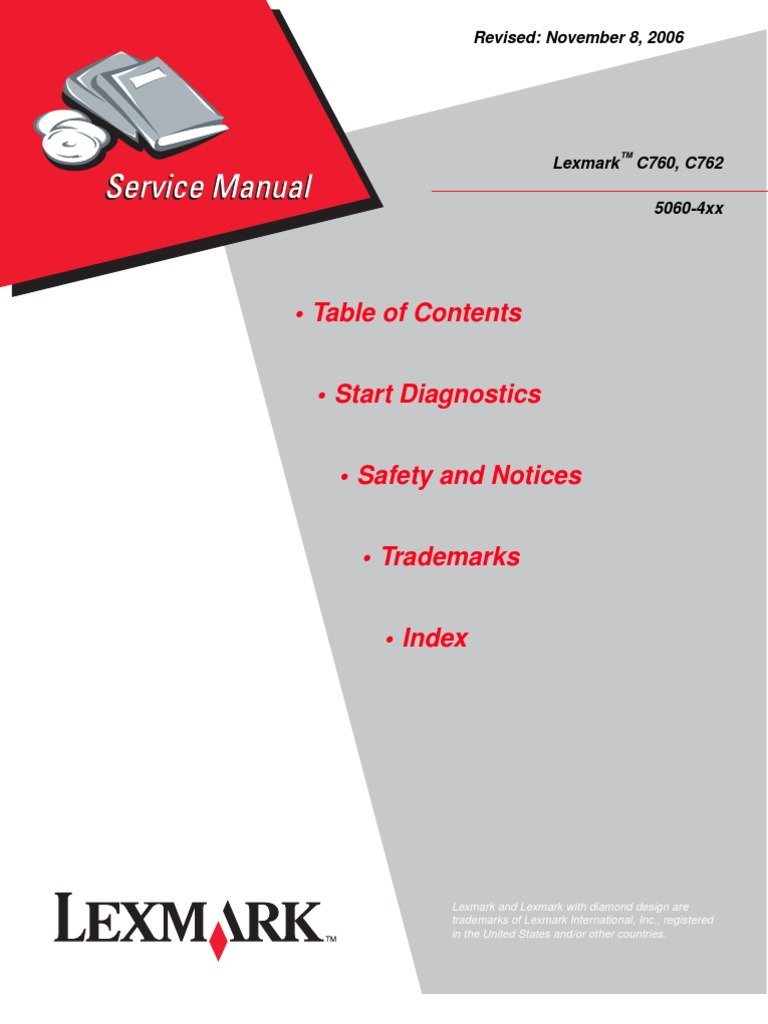 lexmark c760 c762 service manual repair guide