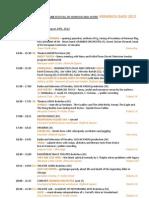 KREMNICA GAGS 2012 - Program