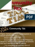 Community Tax