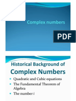 Complex Numbers (1)