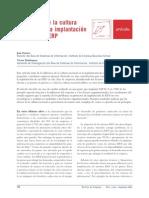 Impacto de La Cultura Al Implementar Sistemas ERP