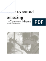 Story - How to Sound Amazing