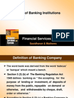 Managing Banking Institution