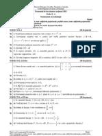 Model Bac 2013 E c Matematica M Tehnologic Varianta