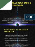 06 Isu-Isu Etika Dalam Sains & Teknologi[1]