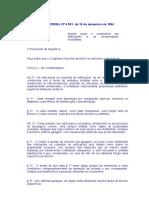 Lei Fed 4591 - Condomyanio