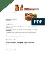 Proyecto y Tareas Mercadotecnia