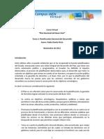 Tema 3- Planificación Nacional del Desarrollo