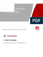 Ethernet Service Introduction