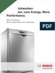 Bosch Dishwasher Brochure 24.2