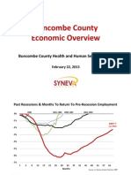 Buncombe County Economic Overview by SYNEVA