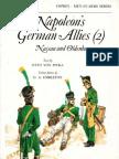 Osprey, Men-At-Arms #043 Napoleon's German Allies (2) Nassau and Oldenburg (1976) 91Ed OCR 8.12