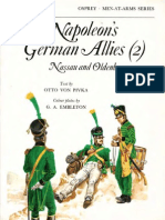 Osprey, Men-At-Arms #043 Napoleon's German Allies (2) Nassau and Oldenburg (1976) 91Ed OCR 8.12