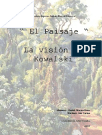 Varios - Pintura - El Paisaje - La Vison de Kowalski