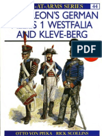 Osprey, Men-At-Arms #044 Napoleon's Germkan Allies (1) Westfalia and Kleve-Berg (1992) (-) OCR 8.