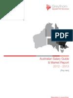 Greythorn Australia Salary Survey and Market Report 2012-2013