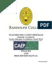 Teach Handbook