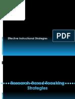 Research-Based Teaching Strategies