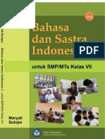 SMP7 Bahasa Dan Sastra Indonesia 1