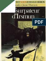 La Voie Du Tigre 3 - L'Usurpateur d'Irsmun