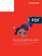 It's the Thought That Counts - Humanitarian Principles and Practice in Pakistan