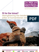 Fit for the Future - Strengthening the Leadership Pillar of Humanitarian Reform