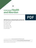 Aborto Mental Health