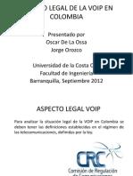 Aspecto Legales de VoIp en Colombia