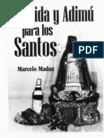 Comida y Adimu Para Los Santos
