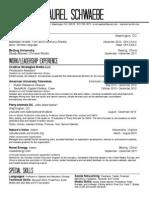 SchwaebeLaurel Resume