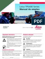 Manual Estacion Total Leica TPS400