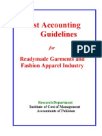 Cag for Garments Industry