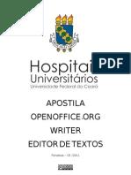 Apostila Writer Openoffice-FINAL