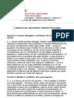 Sant'Agostino - L'unicità del battesimo contro Petiliano (ITA)