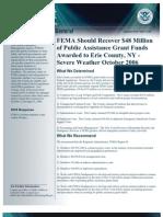 FEMA Erie County Audit