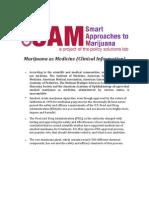 Marijuana - Marijuana as Medicine