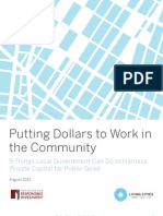 Putting Dollars to Work in the Community 9 Things Local