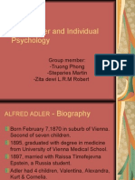 Alfred Adler and Individual Psychology - Pp