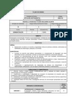 PLANO DE ENSINO PORTUGUÊS INSTRUMENTAL ADMINISTRAÇÃO
