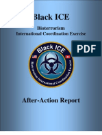 Black ICE Bioterrorism International Coordination Exercise After-Action Report