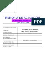 Memcurso Profesional 07-08