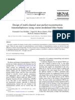 Design of Multi Channel Near Perfect Reconstruction
