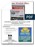 Walgreen's Woodside Plaza | 2335-2425 S. Azusa Avenue, West Covina | for Lease