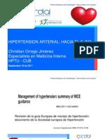 Hipertension Arterial Rumbo a la jnc-8