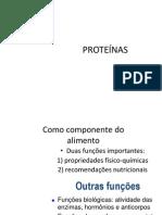 aminoácidos e proteínas nutrição- aula 1