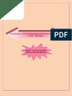 Planeacion Estrategica Biblioteca Municipal Publica Tuta 2013-2017