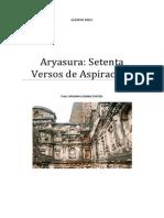 ARYASURA Setenta Versos de Aspiración.