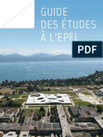 EPFL Guide French 2012